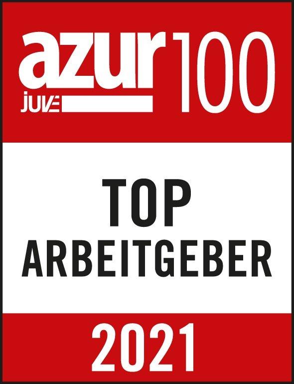 azur Juve 100, Top Arbeitgeber 2021